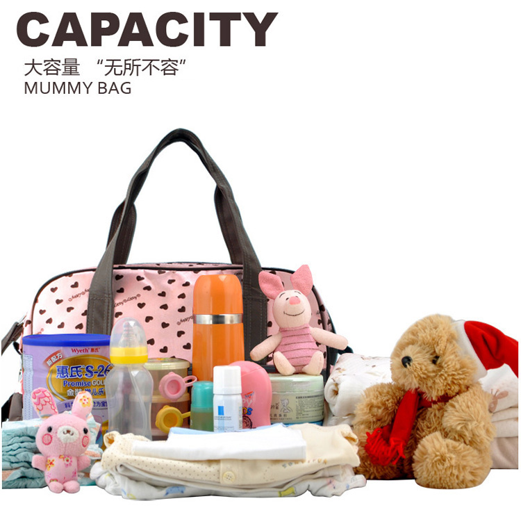 Discount! Diaper Bag Diaper Bag Polyester Baby Changing Baby Diaper Bags High Quality Stroller Nappy Bag