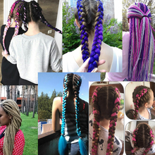 Braiding Hair Synthetic pure color Hair Extensions
