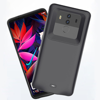 6Countries Drop Ship Battery For HUAWEI Mate 10 Pro External Power Bank Charger TPU Frame Phone
