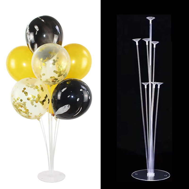 1 Set Balloons Holder Column Stand Holder Stickers for Wedding Kids Birthday Party Baby Shower Decoration Balloon Accessories