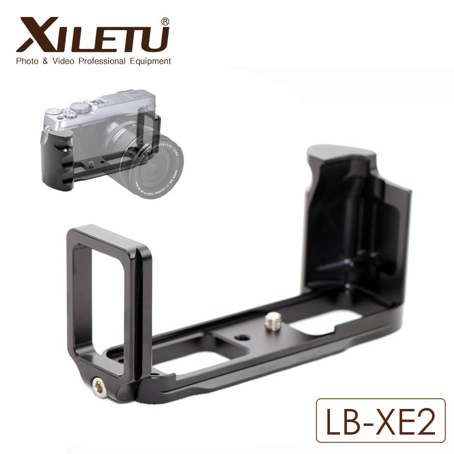 Xiletu LB-XE1 L Ball Head Plate Quick Release Plate QR Vertical Bracket For Fujifilm XE1 XE2 Arca Standard Width 38mm