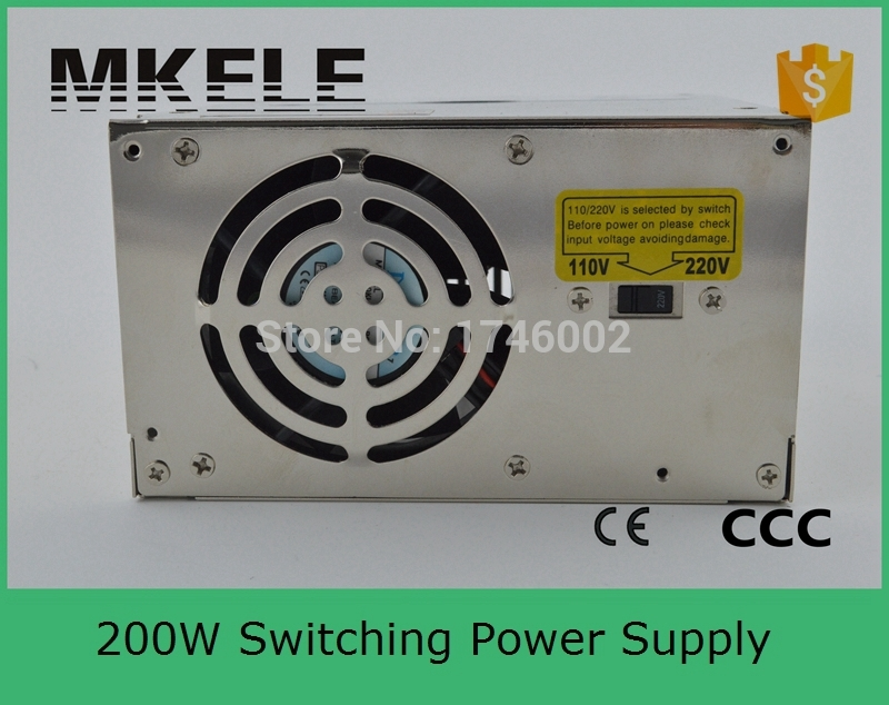 ФОТО S-200-7.5 2016 new free shipping 200W 7.5V 26.5A Single Output Switching power supply for LED Strip light AC to DC
