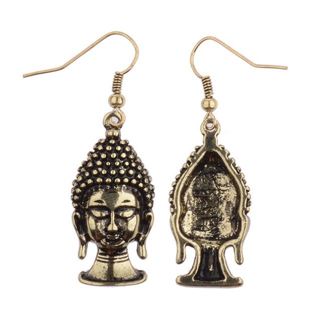 Women's Buddha Drop Earrings 2