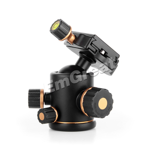 Image 2 - Pergear TH3 Pro tripod döngüsü Kafa 8 KG Yükleme Kapasiteli 360 Derece Döner Panoramik Monopod DSLR Kamera Metal Yapı Kaliteli