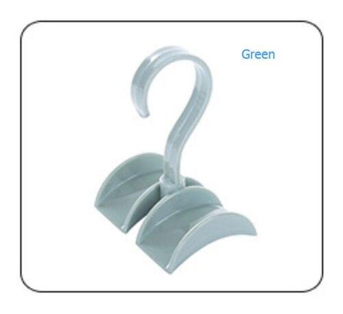 Шкаф Органайзер стержень вешалка Сумочка Хранение Кошелек Вешалка держатель крюк мешок s - Цвет: Зеленый