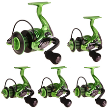 Foldable Metal Arm 1000-7000 series Fishing Reel Durable 13+1BB Anti-Reverse Fishing Reel Gapless Head Spinning Wheel