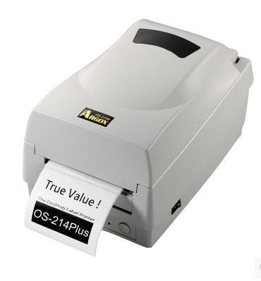 Más alta resolución de escritorio de transferencia térmica de códigos de barras etiquetas etiqueta de impresora impresora de la cinta soporte 1D / 2D / QR Code