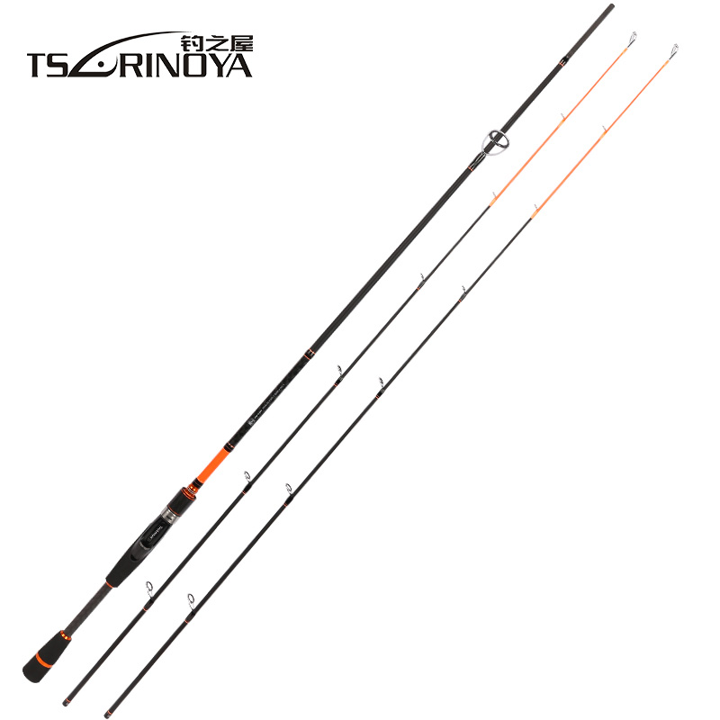 TSURINOYA JOY TOGETHER 2.1m 2.4m Spinning Fishing Rod 2 Tips M/ML Power Vara De Pescar Carbono Spinning Rod Carp Fishing Tackle tsurinoya 2 01m 2 13m proflex ii spinning fishing rod 2 section ml m power lure rod vara de pesca saltwater fishing tackle