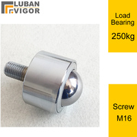 Factory outlets Free rotation Casters/ball With screw,Heavy duty, precision delivery ball,KSM38-FL,M16 screw,load bear 250kg