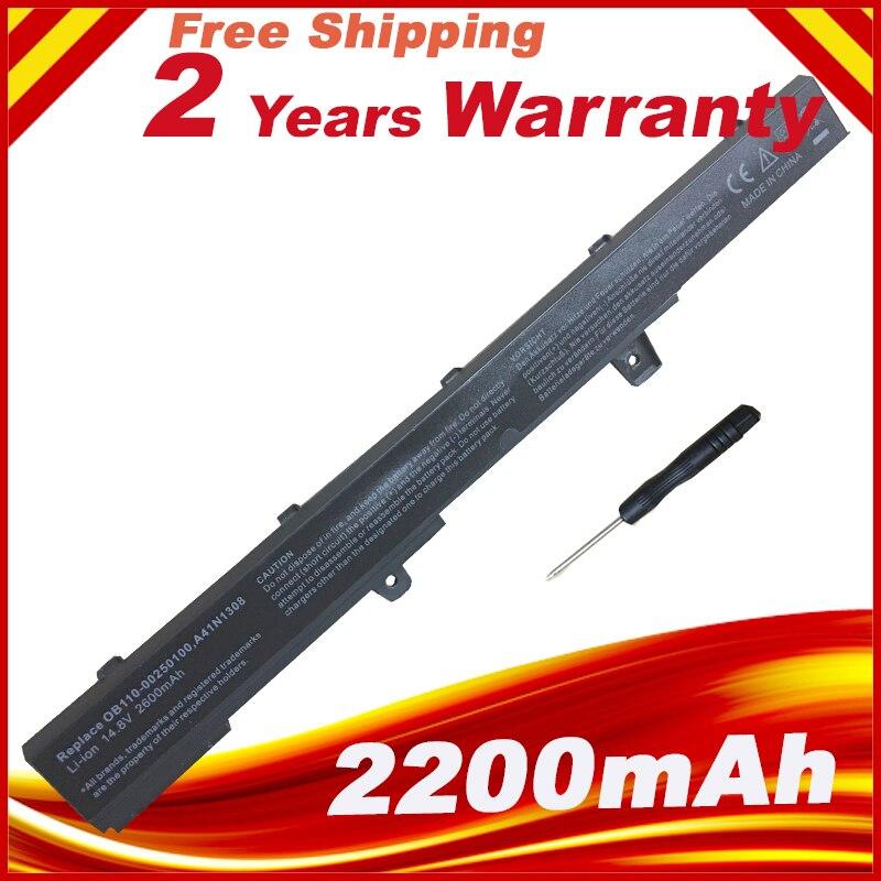 New Battery for ASUS X451 X551 X451C X451M X551C X551M A31N1319 A41N1308 A31LJ91