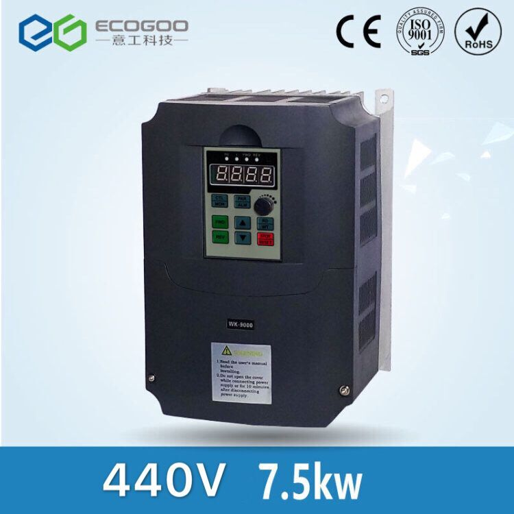 new 3 phase 440V 15A 7.5KW 10HP Inverter VFD frequency AC drive new 3 phase 440v 3 7a 1 5kw frequency inverter vfd frequency ac drive