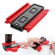 5inch Multi functional Contour  Gauge Tiling Laminate Tiles Edge Shaping Wood Measure Ruler ABS Contour Gauge Duplicator