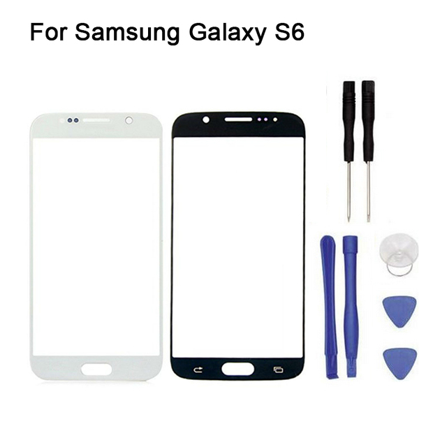 New Replacement Front Touch Screen Panel Outer Glass Lens For Samsung Galaxy S6 Sm-G920F/L/M/G/W/DS G9200