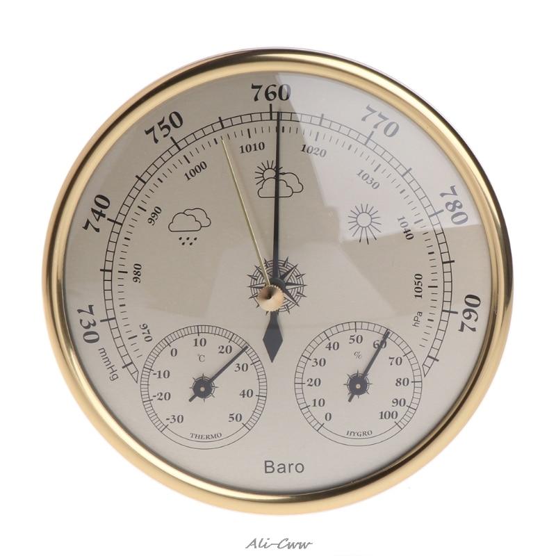 Настенный домашний барометр, термометр, гигрометр, метеостанция, подвесная