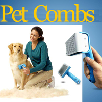 Pet Supplies Comb For Dogs Pet Cat Fur Hair Grooming Cat Comb Dog Hair Shedding Hair Tool Brush Products For Animals GS031