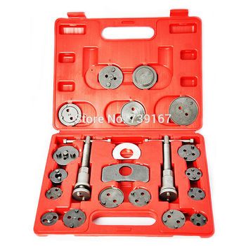 21PCS Auto Caliper Disc Brake Wind Back Pad Piston Compressor Repair Garage Tool For Ford Volkswagen Mercedes Audi BMW ST0112
