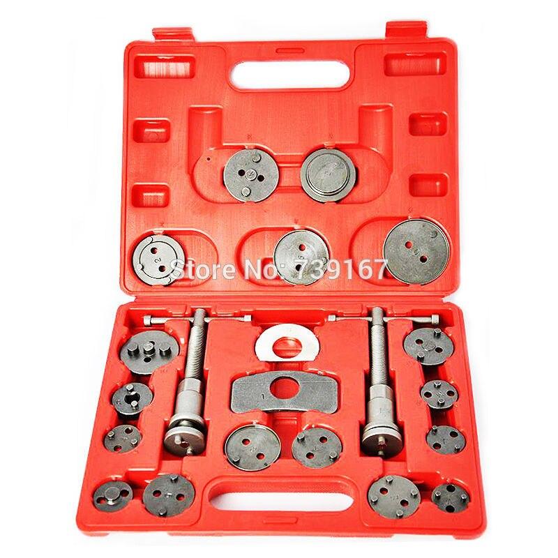 21PCS Auto Caliper Disc Brake Wind Back Pad Piston Compressor Repair Garage Tool For Ford Volkswagen Mercedes Audi BMW ST0112