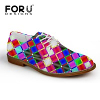 FORUDESIGNS High Quality Leather Men Shoes Soft Slip On Casual 3D Mixed Color Flats Male Oxford