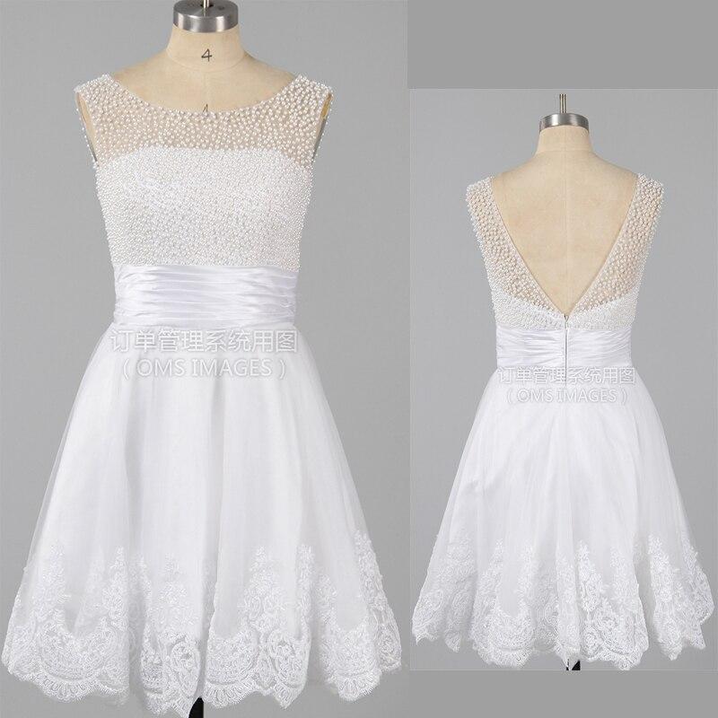 Real Images Sexy Zipper Short Elegant Prom Dresses 2017 Evening Dress for Prom festa vestidos de Novia Plus size Beadding gown