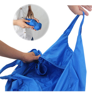 Image 4 - Ultralight Folding Handbag Packable Shopping Travel Hand Carry Bag  Vacuum Bags For Clothes For Men Women