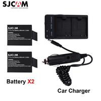SJCAM 2 Pcs 3 7V Li Ion Battery Dual Charger Car Charger For SJCAM Sj5000 Series