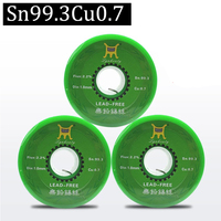 750g Lead Free Solder Wire Health Sn:99.3% Tin Wire Melt Rosin Core Big Roll Model:Sn99.3 0.7Cu