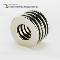 10 pcs NdFeB Magnet Ring OD 40x20x3 (+/-0.1)mm thick Strong Neodymium Permanent Magnets Rare Earth Magnetic Tube Precision