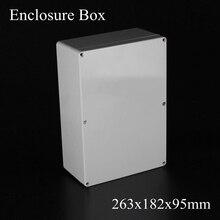 263 х 182 х 95 мм Водонепроницаемый Пластиковый Корпус DIY Распределительная Коробка
