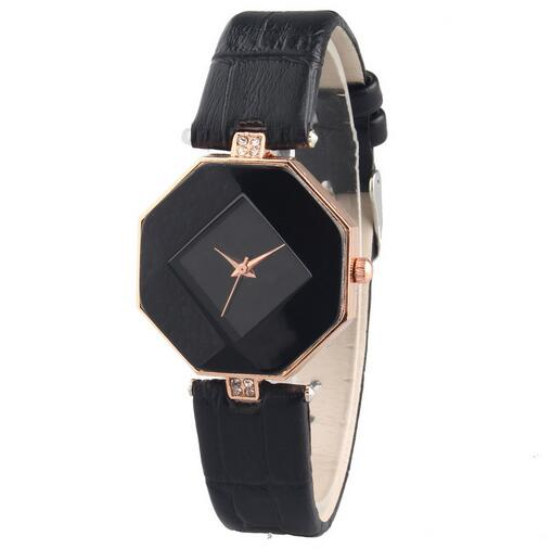Luxury Brand Leather Quartz Watch Women Ladies Casual Fashion Bracelet Wrist Watch Wristwatches Crystal Clock relogio feminino аксессуар gembird cablexpert hdmi dvi 19m 19m 10m single link black cc hdmi dvi 10mc