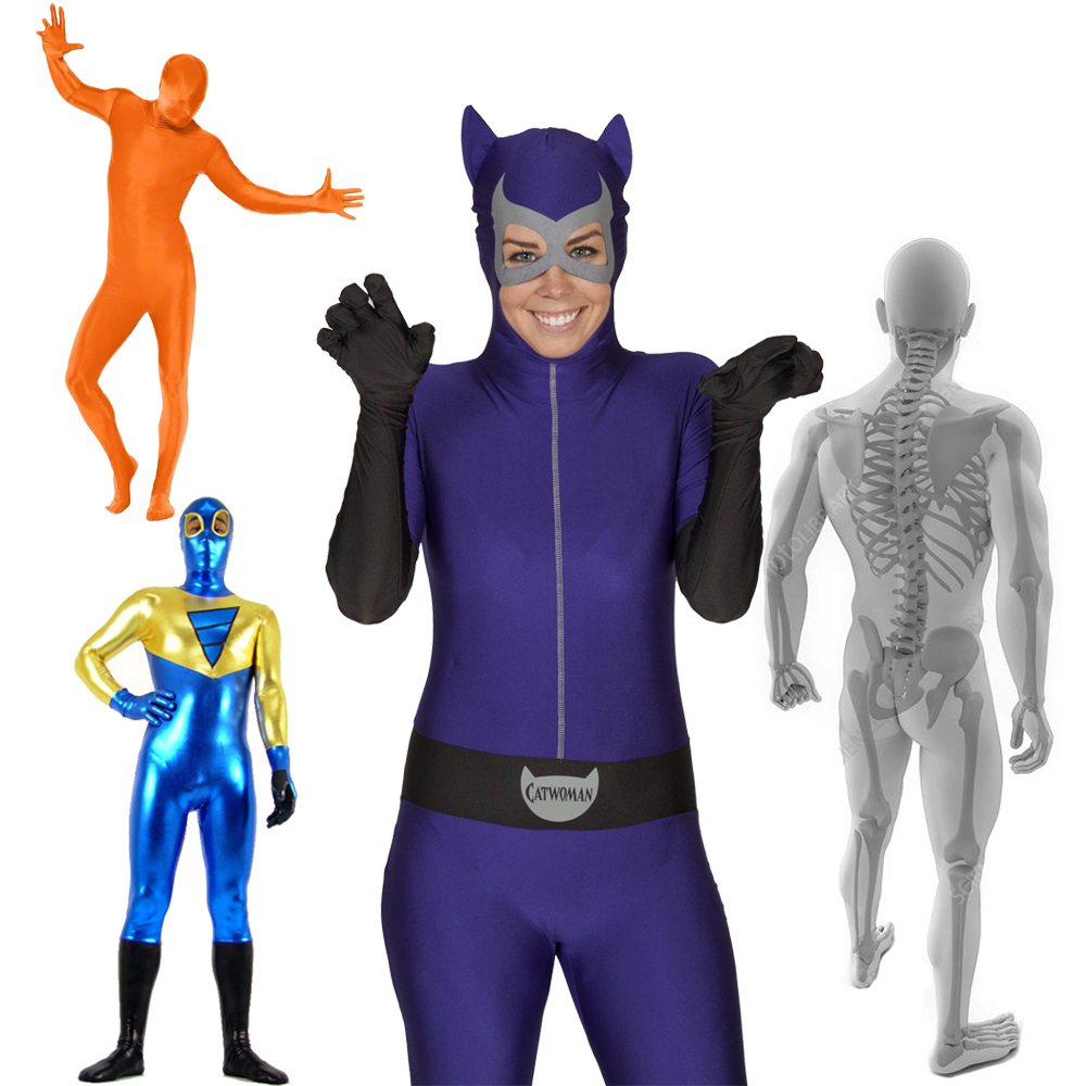 Cosplay Costumes Costum Made Zentai Bodysuits Customization Halloween Carnival Christmas New Year Costumes