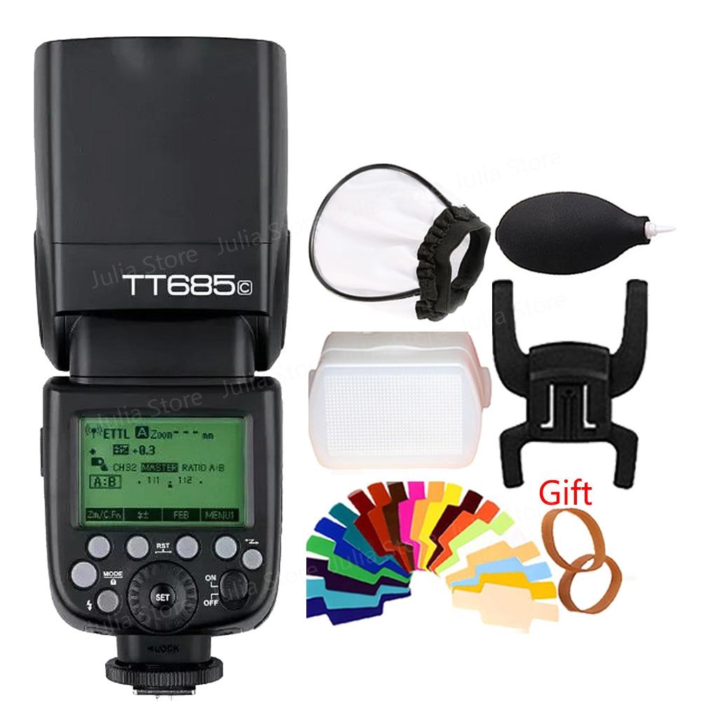 Godox TT685C TT685N TT685S TT 2.4g HSS 1/8000 s TTL GN60 Sans Fil Flash Speedlite pour Nikon Canon sony Olympus Panasonic Fujifilm
