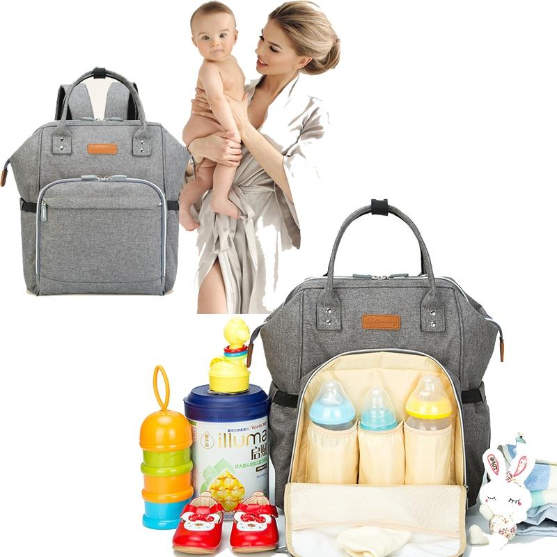 Bolsa de Pañales de Mamá de Gran Capacidad Bolsa de Pañales de - Pañales y entrenamiento para ir al baño - foto 1