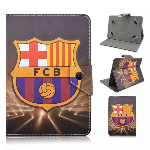with Football giants pattern Universal 7inch Tablet Soft PU Leather Case Cover For Samsung 7 Tablet For Kids pen universal 61 key bluetooth keyboard w pu leather case for 7 8 tablet pc black