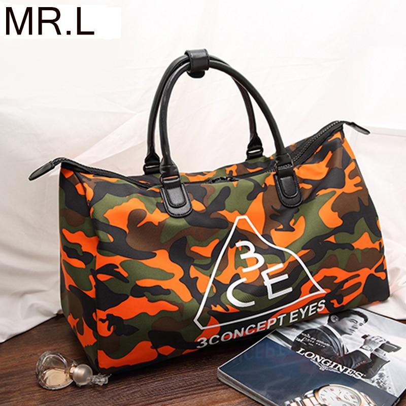 MR.L Women Tote Luggage 3ce Big Bag Men Zipper Handbag Large Capacity Wear-resistant Waterproof Dustproof Casual Travel Bag