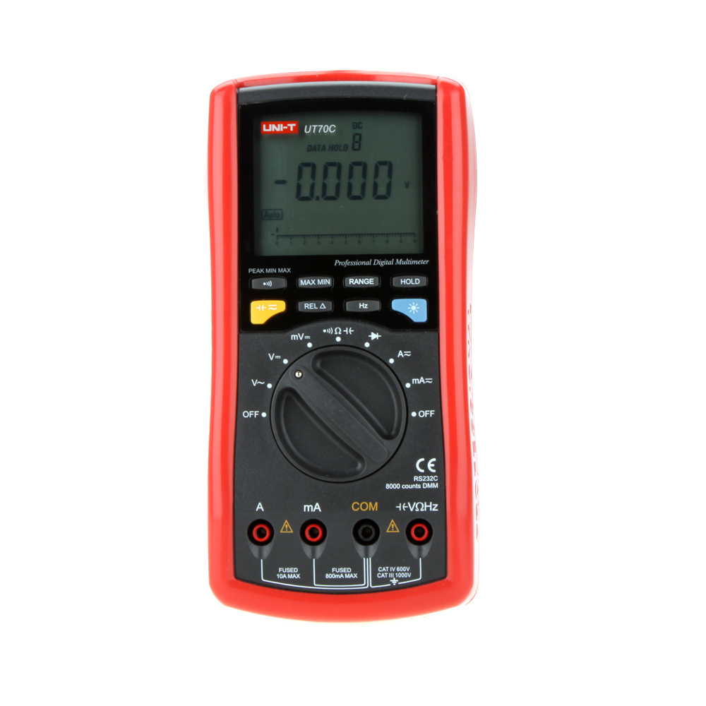 UTI-T UT70C+ 7999 Count Resistance Conductance Capacitance Frequency DMM Digital Multi-Purpose Meters ut70b modern digital multi purpose meters resistance capacitance frequency temperture dmm auto ranging multimeter with backlight
