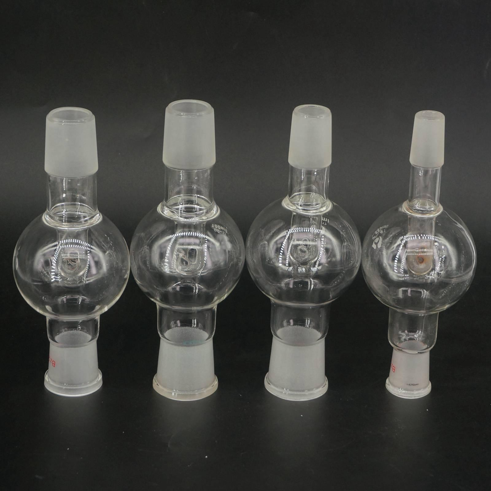 50ml Bump Trap 14/23 19/26 24/29 29/32 Female To Male Joint GG17 Glass Rotary Evaporator Labware
