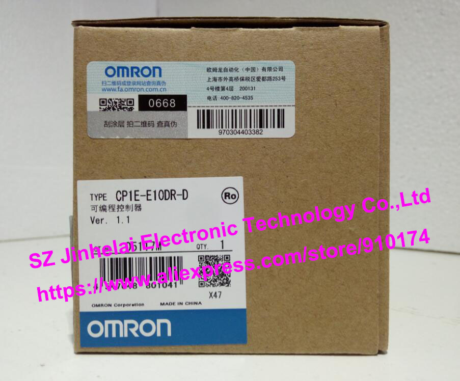100% Authentic original CP1E-E10DR-D, CP1E-E10DT-A, CP1E-E10DT-D OMRON Programmable controller authentic original cp1e n40s1dt d omron configuration rs232 rs485