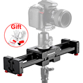 "Pergear 3/8"" Adjustable DSLR Video Camera Slider V2 Short 400mm for DSLR DV Camera Up to 8kg Dolly Stabilizer P0010554"