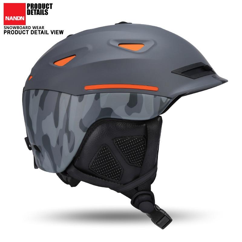 Snow Unisex Ski Helmet Breathable Ultralight Skiing helmet For Men Women Snowboard Skateboard Winter Outdoor Sports Safety