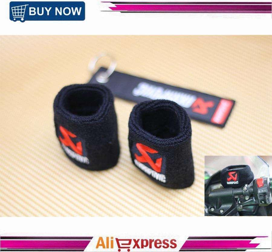 2 Pcs Large Superbike Road Bike Motocross Front Brake Reservoir Sock For Suzuki Kawasaki Yamaha Honda BMW цена