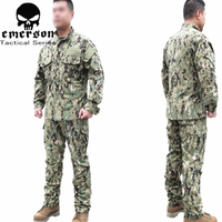 Emersongear Military Hunting Combat BDU Shirt & Pants EMERSON NWU Type III AOR2 Uniform EM6892