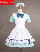 Amore In Diretta! Alice Koizumi Hanayo Cameriera Cosplay Costume Su Ordine Per Il Natale Halloween