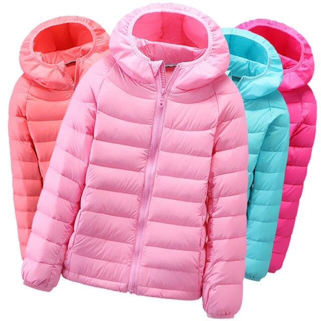 Бесплатная доставка зимние куртки для девочек теплые детские пальто детские ветровки