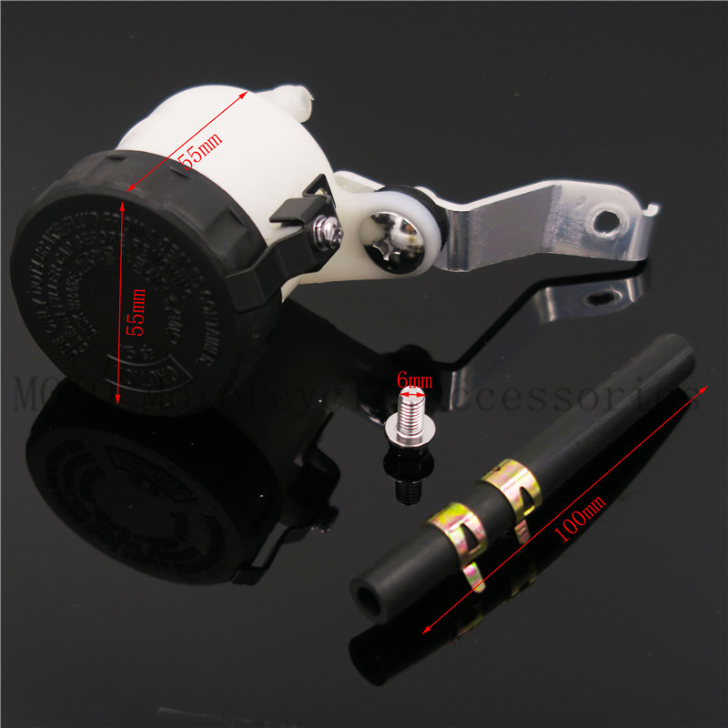 Motorcycle Master Cylinder Brake Fluid Reservoir Oil Cup Tank For Honda CBR1000RR/S CBR600RR 2004 2005 2006 2007 2008 2009-2015 cnc motorcycle brake fluid reservoir clutch tank cylinder master oil cup for yamaha fz6 600 fazer s2 2004 2005 2006 2007 2008