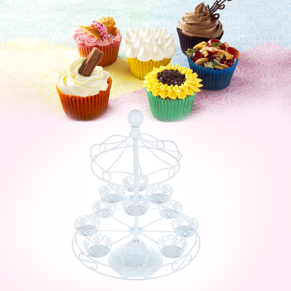 Cupcake Design Kitchen Accessories: Original Detachable 3 Tier 12 Cupcake Stand Party