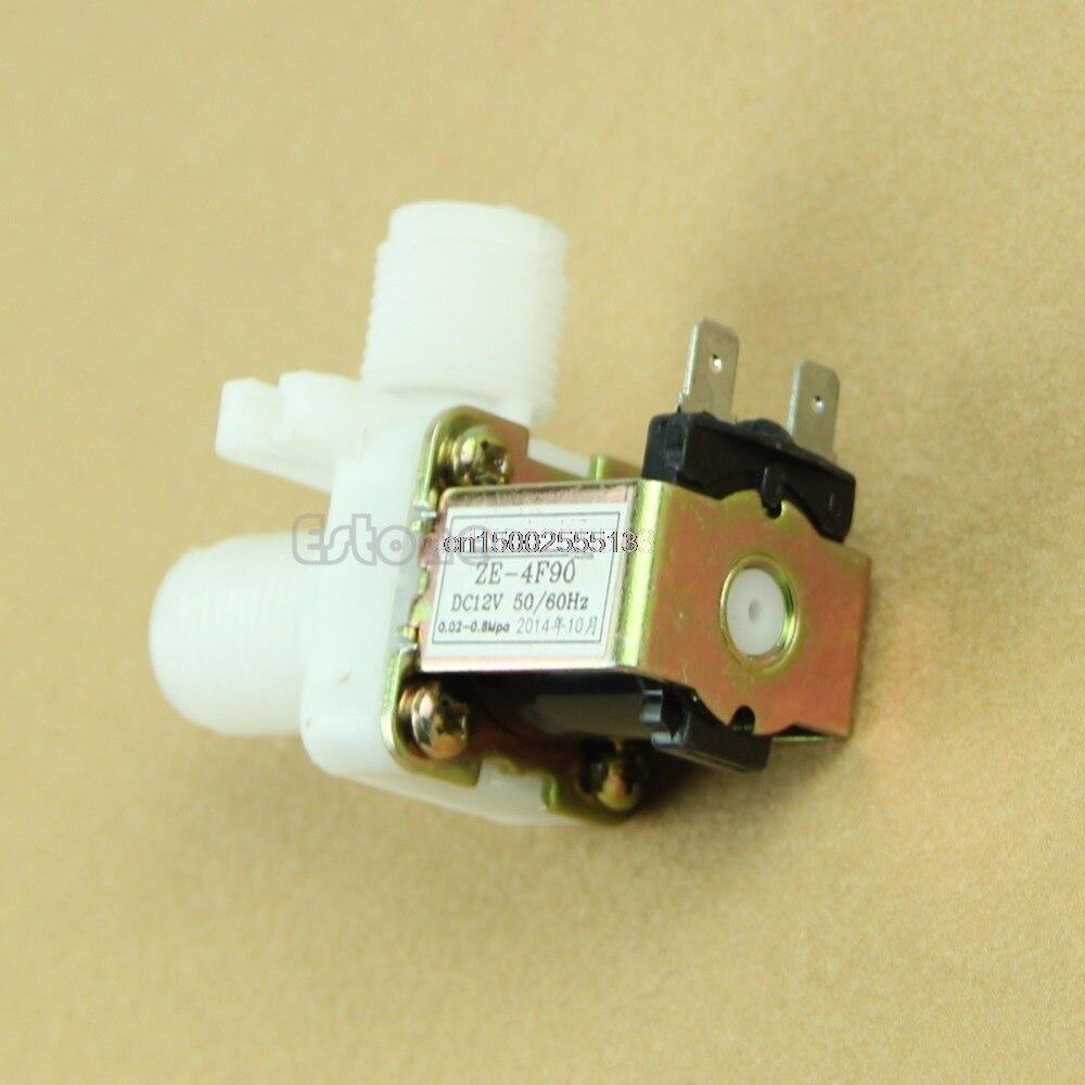 Heimwerker Analytisch Wasser Ventil Dc 12 V Elektrisches Magnetventil Magnet N/c Wasser Lufteinlass Fluss Schalter 1/2