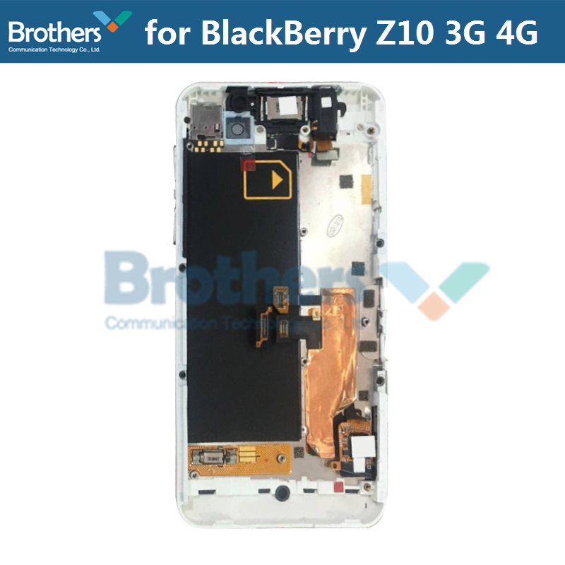 LCD Screen for BlackBerry Z10 4G 3G LCD Display for BlackBerry Z10 4G  Version Touch Screen Digitizer LCD Assembly With Frame 4 2