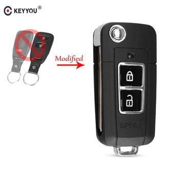 Chiave Telecomando per Kia SOUL 2 Buttond Flip Folding Remote Key Shell Case Cover Fob Car Style