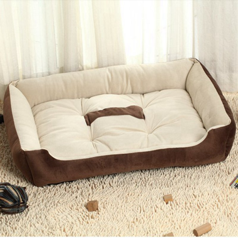 US $10.72 40% OFF|Winter Pet Kennel Dog Bed Sofa Mats Warm Soft Bed For  Small Medium Large Dog Sofa Cat Mat Plush Pet House Products Winter Warm-in  ...