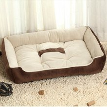 Winter Pet Kennel Dog Bed Sofa Mats Warm Soft For Small Medium Large Cat Mat Plush House Products